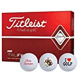 Titleist TruFeel Golf Ball, White, (One Dozen)